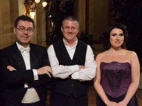 Before the recital in Meran, with Corrado Ruzza & Giovanni Gazzo