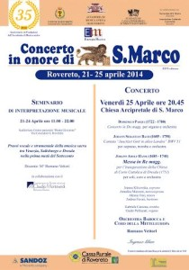 Manifesto San Marco